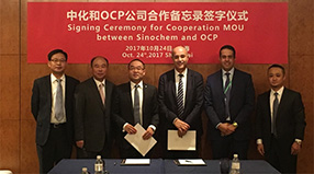 Long-term Agreement between Sinochem and OCP